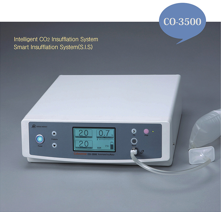 CO-3500, Intelligent CO2 Insufflation System, Smart Insufflation System(S.I.S)