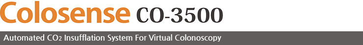 Colosense CO-3500, Automated CO2 Insufflation System For Virtual Colonoscopy