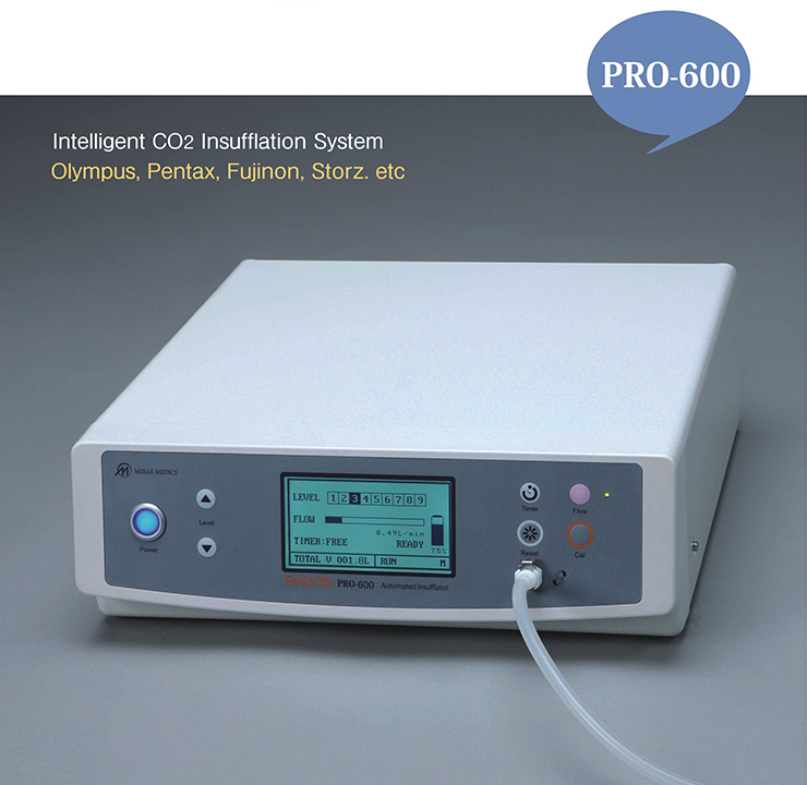 PRO-600, Intelligent CO2 Insufflation System