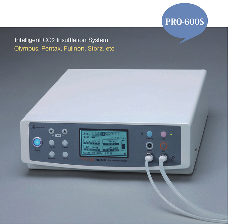 PRO-600S, Intelligent CO2 Insufflation System