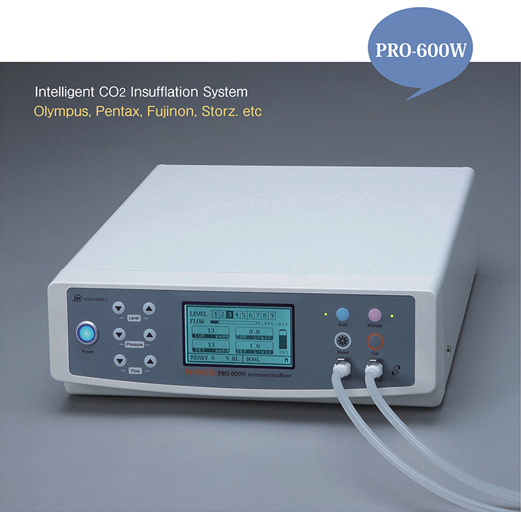 PRO-600W, Intelligent CO2 Insufflation System